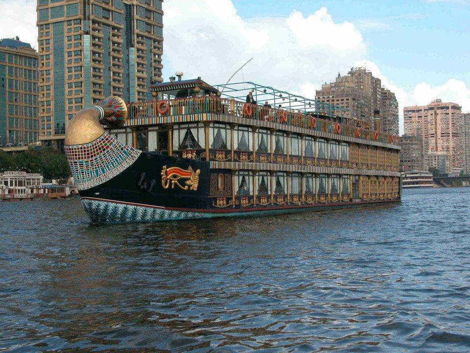 البواخر الفرعونية - السفينة الفرعونية - مركب فرعون النيل